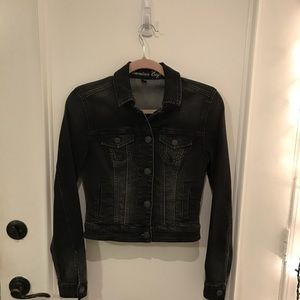 American Eagle black denim jacket